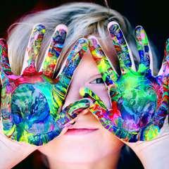 A színeket a gyerekek is imádják!