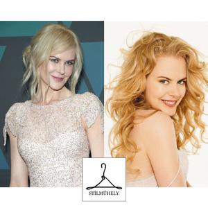 Nicole Kidman jó és rossz színekben